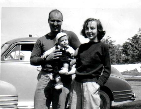 Mom Dad and Joe