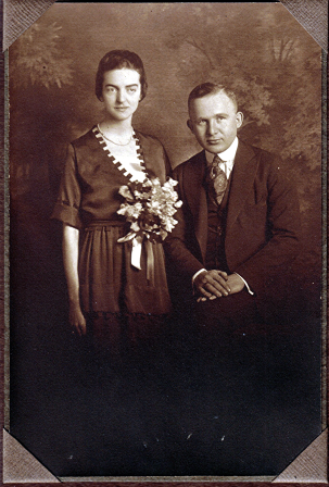 Gertrude and Edwin C Douglass- 1920